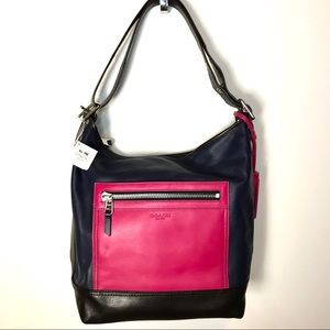 NEW Coach legacy colorblock duffle